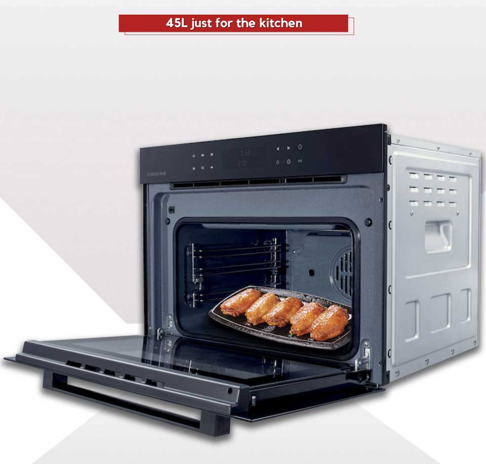 45cm height series, DE&E ka4505 45L big capacity compact oven